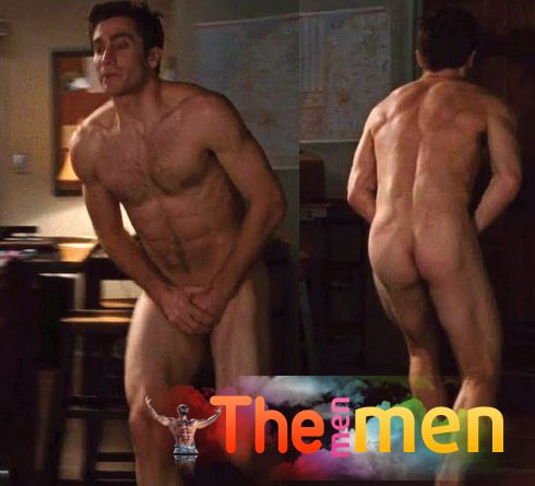 Jake Gyllenhaal Shows His Rock-Hard Abs And Cock